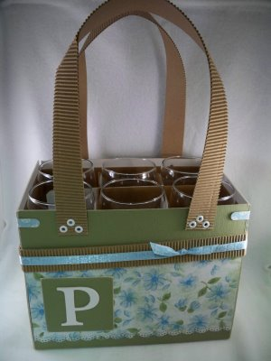 Wine carrier craft project