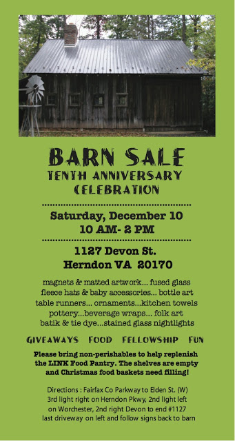 Barn Sale and Tenth Anniversary Celebration