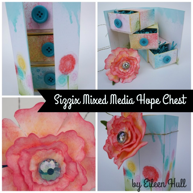 Sizzix Mixed Media Hope Chest EH-640