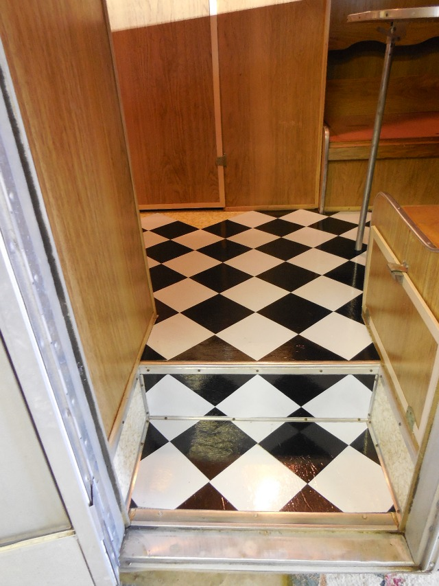 How To Install Flooring In A Vintage Trailer Eileen Hull