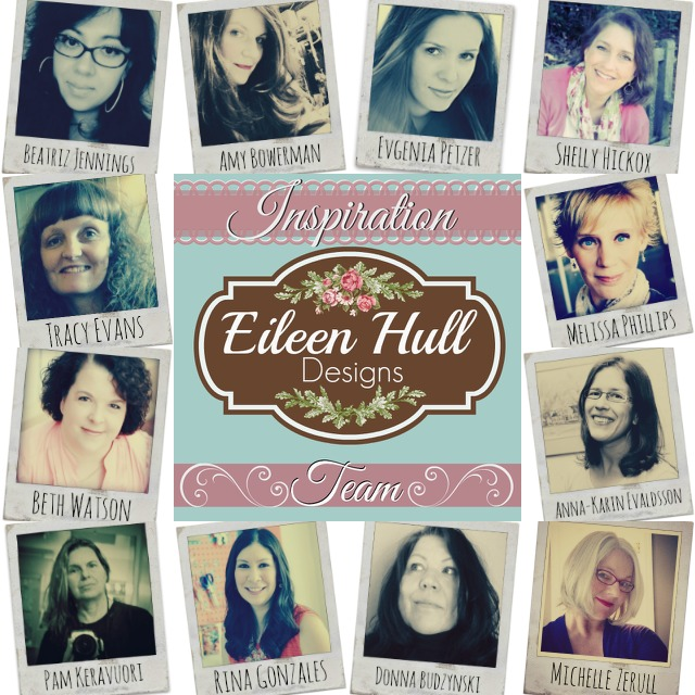 Meet the Eileen Hull Inspiration Team! | Eileenhull.com #lovesizzix