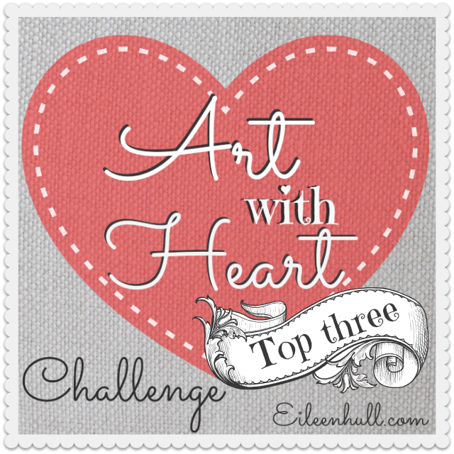 Art with Heart April Showers Challenge Winner and Top 3! | Eileenhull.com