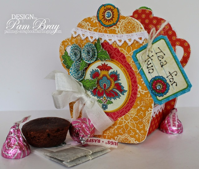 Sizzix Vintage Kitchen Project Tutorials by Pam Bray | Eileenhull.com