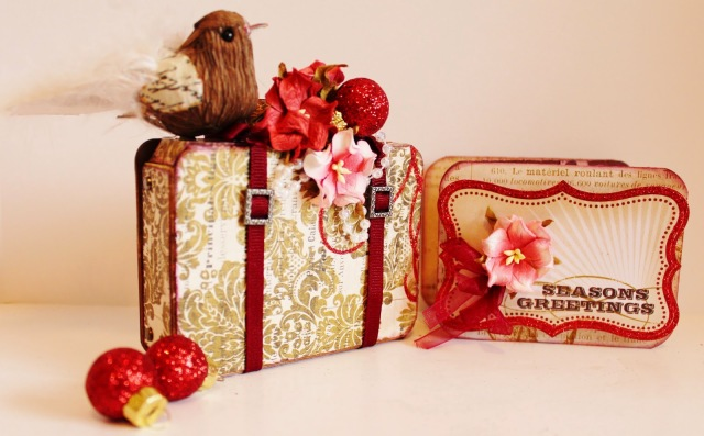 Suitcase Gift Card Holder by Pam Bray