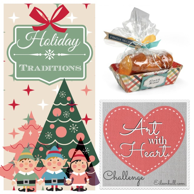 Art with Heart December Holiday Traditions Challenge Sizzix Prize Pack | Eileenhull.com