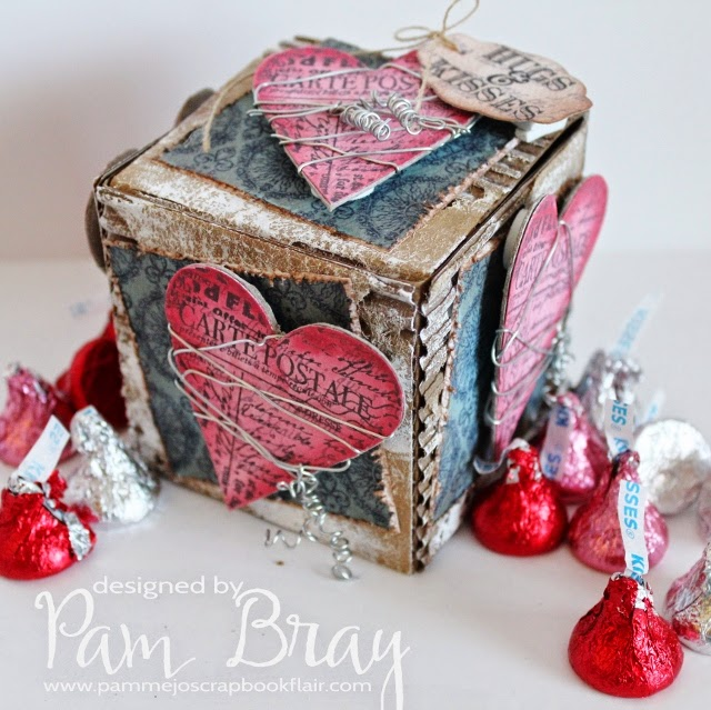 Hugs and Kisses Candy Box ATB by Pam Bray
