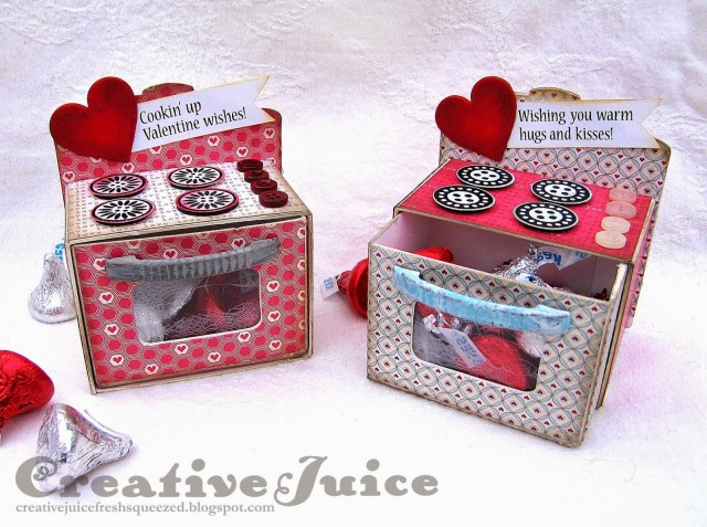 Valentine's Day Lovin' Ovens by Lisa Hoel