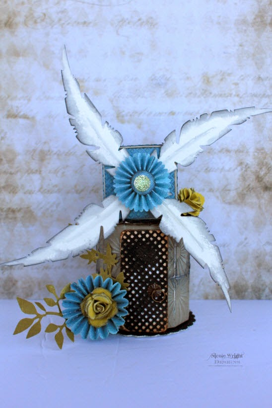 Cookie Box Windmill by Nicole Wright