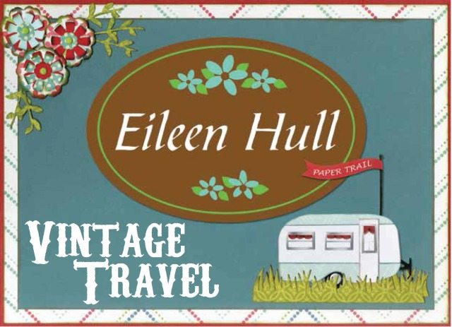Vintage Travel Sizzix Collection by Eileen Hull | Eileenhull.com