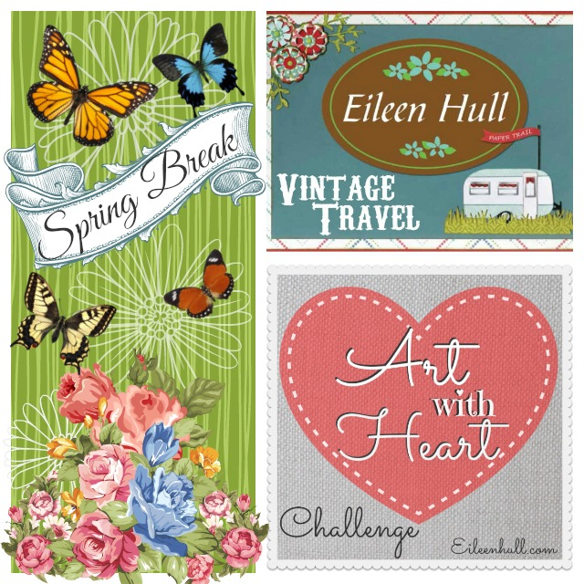 "Art with Heart Challenge April ""Spring Break"" Sizzix Prize Pack 