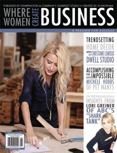Where Women Create BUSINESS Spring 2015