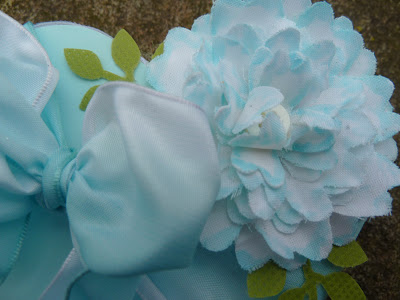 How to make a 3D flower from your husband's old shirt