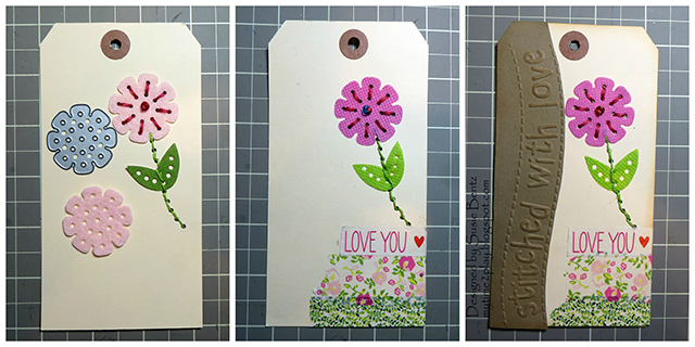 2c Stitched With Love Tag Tutorial by Susie Bentz for Eileen Hull Sizzix
