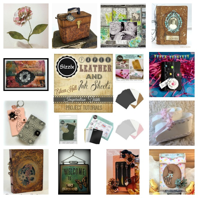 Sizzix Paper Leather Project Tutorials