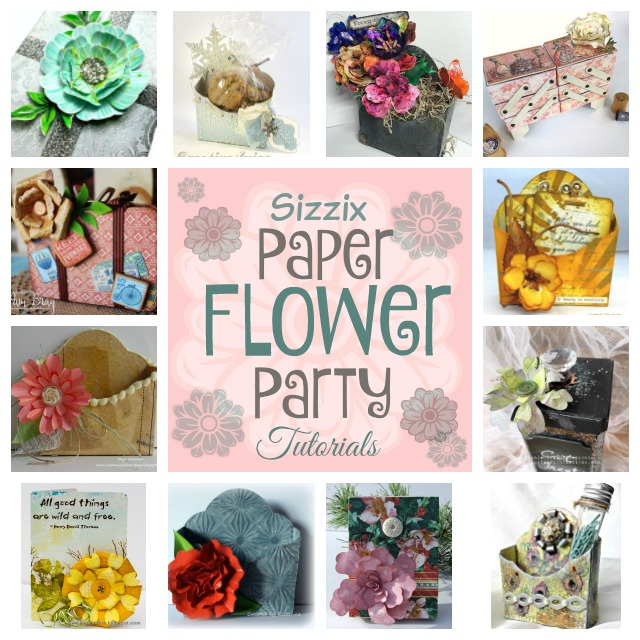 Paper Flower Party Tutorials and More!