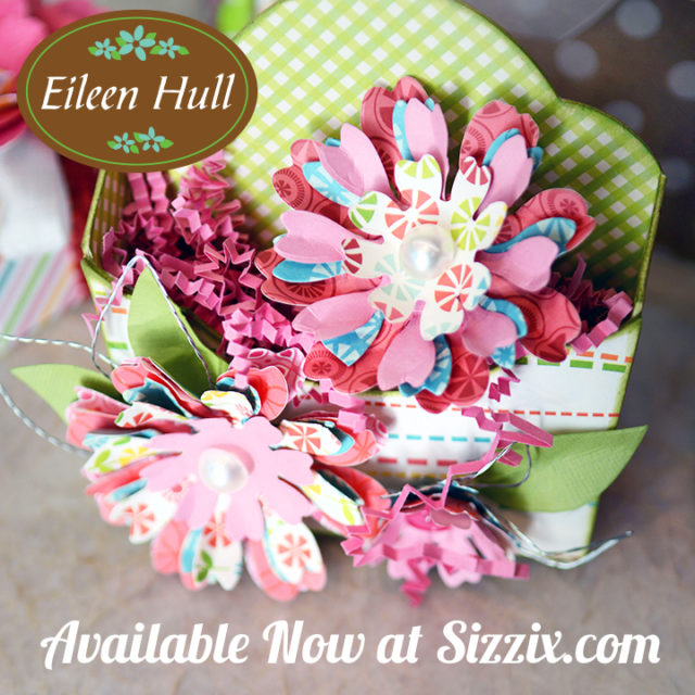 Paper Flower Party a new Sizzix Collection from Eileen Hull