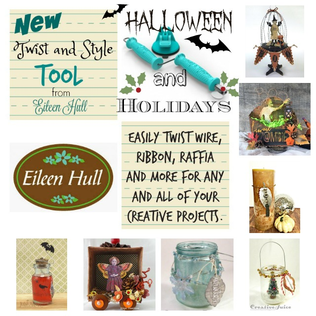 Eileen Hull Twist and Style Tool Project Tutorials : Halloween and Holidays