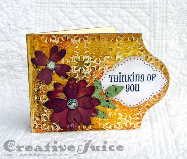 Creative Cards Using Sizzix Dies : Eileen Hull Caddy Card by Lisa Hoel