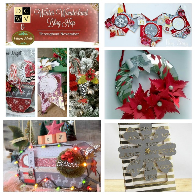 Holiday Sizzix Projects with DCWV