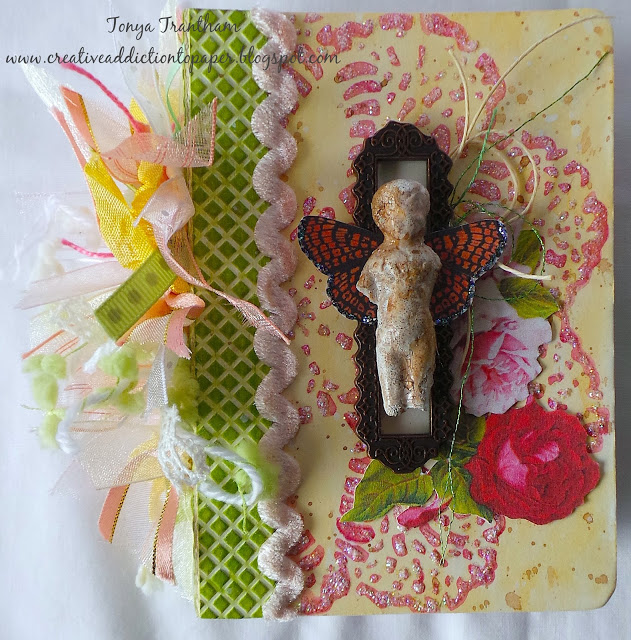 Creative ColorBox Blends Project Ideas : Butterfly Angel Junk Journal by Tonya Trantham