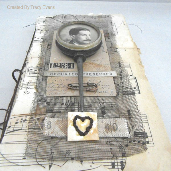 Heartfelt Sizzix Collection by Eileen Hull : Masculine Journal by Tracy Evans