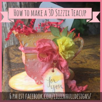 Sizzix Embossed Teacup