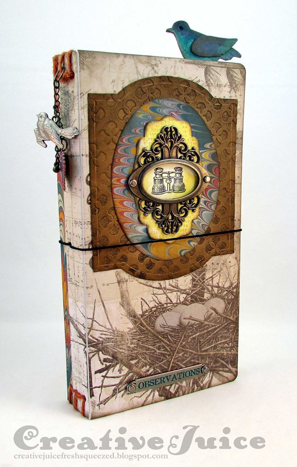 HeARTfelt Journal Tutorials: Bird Watching Journal by Lisa Hoel
