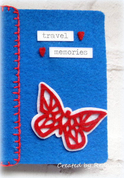 Kunin Heartfelt Sizzix Tutorials: Felt Passport Book by Anne Redfern